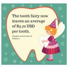 How much does the tooth fairy leave you? Source The post How much does the tooth fairy leave you? appeared first on Discovery Kids Dental.