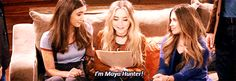 "2017 Sabrina Carpenter in GMW S3E21 ""Girl Meets Goodbye"" where Maya Hart is adopted by Shawn Hunter: I'm Maya Hunter (en español: Soy Maya Hunter)"