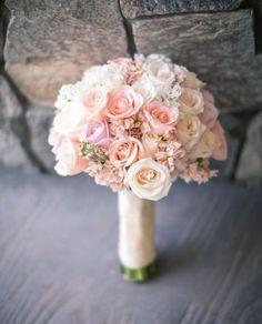 Brautstrauss zart rosa pastell spring_bouquets_ wedding