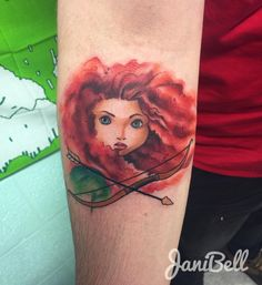 "272 Likes, 11 Comments - Janielle Gaggero (@janibellart) on Instagram: """"Our fates lives in us. You only have to be BRAVE enough to see it."" ✨ Super fun Merida piece for…"""