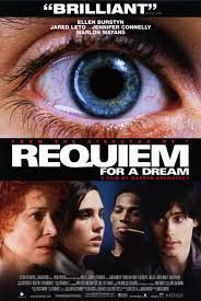 Requiem for a Dream Movie Poster 27x40 Used Jared Leto, Jimmie Ray Weeks, John Getz, Ajay Naidu, Todd Miller, Jack O'Connell, Sean Gullette, Ellen Burstyn, Denise Dowse, Keith David, John Bryant Davila, Peter Maloney