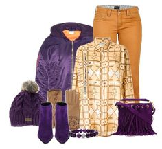 """""""Purple outfit only"""" by no-where-girl ❤ liked on Polyvore featuring Vetements, Marmot, JC de Castelbajac, Regatta, Yves Saint Laurent, Burberry, Barbara Bui and Lagos"""