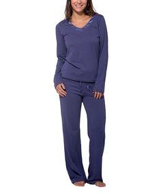 Love this Pajama Drama Smokey Diamond Super Soft Sleep Pajama Set - Plus Too by Pajama Drama on #zulily! #zulilyfinds