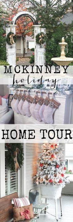 McKinney Holiday Home Tour 2016 part 1 #Christmas #HomeTour