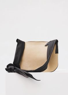 Small Ribbon Bag in Suede Calfskin - セリーヌについて