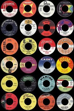 The Northern Soul Train website with some famous record labels.