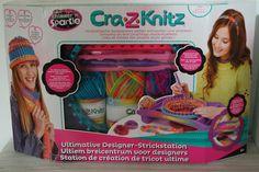 Filines Testblog: Strickstation Shimmer N Sparkle Crat-Z-Knitz für j...