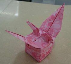 Origami Box - Crane Style Box