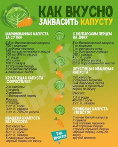 How to ferment cabbage Как вкусно заквасить капусту How to ferment tasty # cabbage - Russian Dishes, Russian Recipes, Gordon Ramsay, Smoothie Recipes, Salad Recipes, Fermented Cabbage, Good Food, Yummy Food, Cooking Recipes