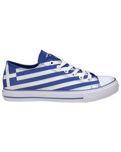 Art Shoes Greek Flag Casual shoe with printed canvas side Learn Greek, Go Greek, Zorba The Greek, Greek Flag, Shoe Art, Art Shoes, Greek Culture, Fade Styles, Ancient Greece