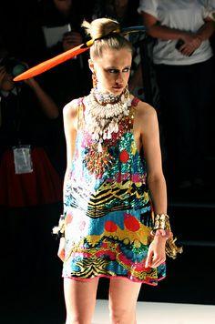 Camilla - Mercedes-Benz Fashion Week Australia Spring / Summer 2012/2013 | Flickr - Photo Sharing!