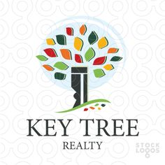 Key Tree Realty Logo by MW Creative Design \ Maria Williams