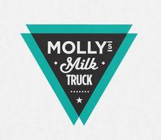 Designspiration — Molly's Milk Truck Logo Design   Imagemme New York