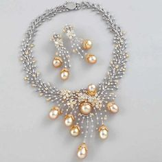 Moreover, the Diamond Pearl Necklaces are available in various colors and known for highly fashionable appeal and eye-catching designs. Description from tradeindia.com. I searched for this on bing.com/images