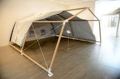 Shigeru Ban - emergency shelters made from paper