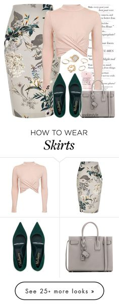 """Без названия #1420"" by sabina-127 on Polyvore featuring River Island, Topshop, Yves Saint Laurent and GUESS"