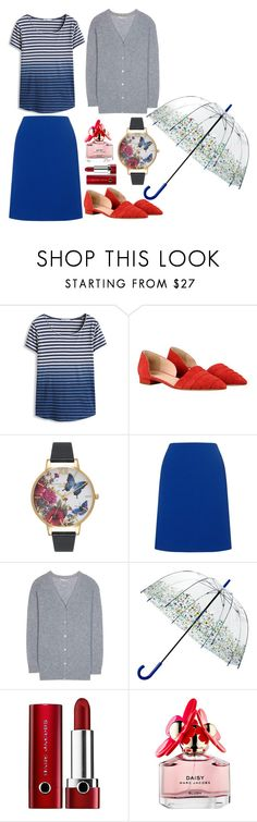 """""""Casual 28"""" by aki-g ❤ liked on Polyvore featuring Olivia Burton, Precis Petite, 81hours, John Lewis and Marc Jacobs"""