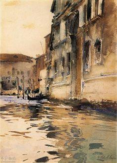 Venetian Canal - John Singer Sargent.