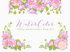 WCA87-pink-dahlia-floral-clipart-png-borders