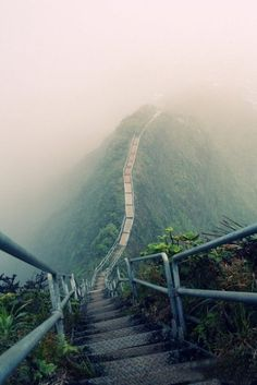 Stairway to heaven. Hawaii. Been there. Done that.