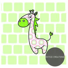 Giraffe! Please visit: www.enticecreations.wordpress.com or follow @enticecreations on Instagram Yoshi, Giraffe, Wordpress, Kids Rugs, Fictional Characters, Instagram, Decor, Art, Art Background