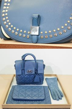 Mulberry gives the #SaksExclusive Cara Delevingne bag a cool blue makeover for #FW15. See the entire collection on #SaksPOV. #SaksAtTheShows