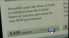 KUTV.com   Stories - Utah A Country? Thousands Sign Petition For Utah To Secede