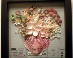 seashell art | My Gallery of Seashell Art | Rosebuds and Seashells, Sailor's ...