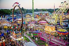 strawberry festival rides - Google Search