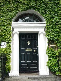 Georgian houses in Dublin