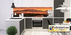 Frentes de cocina en vidrio impreso o de color
