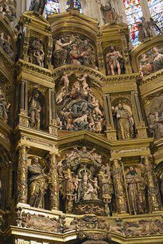 Catedral de Burgos. Burgos, España.