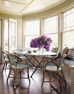 love the look french rattan bistro chairs - Bistro Chairs