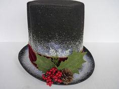 Frosty The Snowman Hat=tutorial