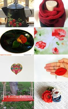 *♥ •*¨*•.¸¸❤ UNIQUE GIFTS ❤¸.•*¨*•♥* by Knit and Crochet on Etsy--Pinned with TreasuryPin.com