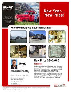 New Year...New Price! Bay Door, Metal Buildings, Sunshine Coast, Real Estate, Real Estates