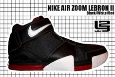 2004-05 Air Zoom Lebron II Black Nike Basketball Shoes, Basketball Players, Nike Shoes, Adidas Sneakers, Lebron 2, Nike Lebron, Classic Sneakers, High Top Sneakers, Popular Sneakers