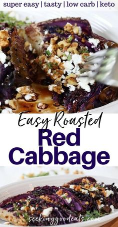 Roasted Red Cabbage: Easy Side Dish Vegetable Recipe