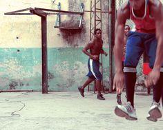 Boxing In Cuba - Training At Rafael Trejo Boxing Gym, Havana