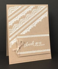 Stampin Up Delicate Details Stamps