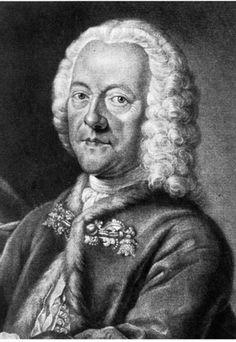 † Georg Philip Telemann (March 14, 1681 - June 25, 1767) German composer.