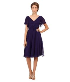 Ivy & Blu Maggy Boutique Flutter Sleeve Inset Waist Dress Nice Dresses, Dresses For Work, Flutter Sleeve, Discount Shoes, Ivy, Dress Outfits, Short Sleeve Dresses, Boutique, How To Wear