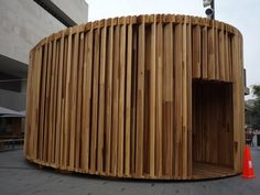 David Adjaye's Pop-Up House : TreeHugger Mobile Library, Design Fields, Up House, Environmental Design, Sustainable Design, Pop Up, Trade Fair, Architecture, Interior