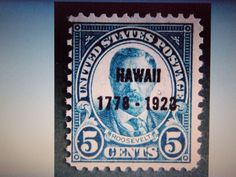 1928-#648-5 CENT HAWAII BLUE-MNH, OG , AV/F-HIGH PRICE STAMP + GIN BONUS