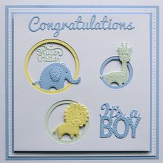 Cheap Cutting Dies, Buy Directly from China Suppliers:It is a Boy Die Cut Baby Boy Cutting Die Metal Dies Boy Design Scrapbooking Crafts Die Cuts For DIY Paper Card Scrapbook Birthday Cards, Baby Scrapbook, Scrapbook Cards, Baby Boy Cards Handmade, New Baby Cards, Diy Cards Baby, Baby Shower Invitaciones, Kids Cards, Cute Cards