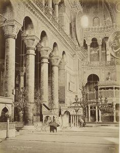 Ayasofya Pascal Sébah, 1870