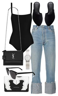 """Untitled #22017"" by florencia95 ❤ liked on Polyvore featuring Matteau, Yves Saint Laurent and Christian Dior"