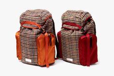 UNDERCOVER Harris Tweed Backpack