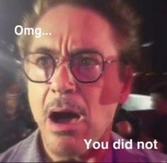 Avengers Memes, Marvel Jokes, Marvel Funny, Marvel Avengers, Funny Reaction Pictures, Funny Pictures, Marvel Images, Response Memes, Marvel Photo