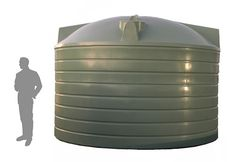 Round Poly Rain Water Tanks | The Water Tank Factory